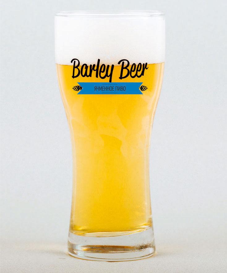 Пиво Barley Beer Нефильтрованное
