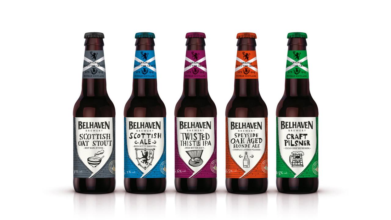 Пиво Belhaven brewery